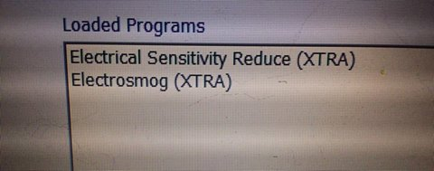 electrical sensitivity frequency